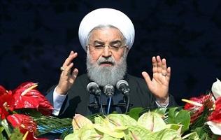 روحانی: استراتژی صبر راهبردی ایران از ۱۸ اردیبهشت به «اقدام متقابل» تغییر کرد / با پیروزی از این شرایط عبور میکنیم