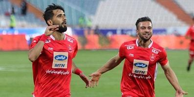 تیم فوتبال پرسپولیس با پیروزی مقابل سایپا ۵۴ امتیازی شد