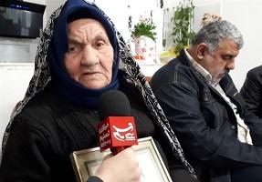 مادر شهید فتحعلی حسینپور: پیکر فرزندم را از روی گردنبند الله شناختم !
