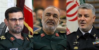 رجزخوانیهای مقامات ایالات متحده آمریکا/ واکنش فرماندهان ایرانی به نمایش آمریکایی در خلیج فارس