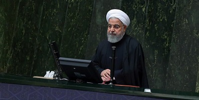 روحانی درمجلس:تورم ۵۲ درصدی به ۲۷ درصد رسید / در زمینه انرژی به خودکفایی رسیدیم/خودروهای حمل و نقل عمومی سال آینده گازسوز میشود