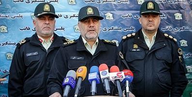 وضعیت امنیتی پایتخت مطلوب است/ سردار رحیمی: مورد خاصی نداریم