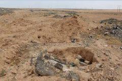 یک گور دسته جمعی از قربانیان داعش کشف شد