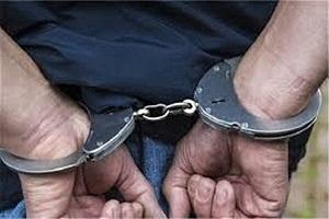 عامل ارتباط با شبکه های معاند در لنگرود دستگیر شد