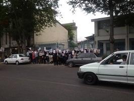 تجمع جمعی از پرستاران گیلانی در اعتراض به وعده های عملی نشده