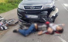 مرگ دلخراش موتورسواران/تجاوز به چپ موتورسیکلت