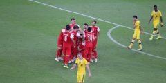 لیگ قهرمانان آسیا| پیروزی ارزشمند شاگردان گل محمدی مقابل تیم عربستانی