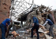 حمله موشکی ارمنستان به دو شهر جمهوری آذربایجان/ تخریب منازل مسکونی در گنجه