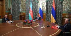 ارمنستان و جمهوری آذربایجان برای آتشبس در قرهباغ توافق کردند