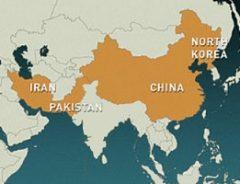 بلوک قدرتمند نیمکره شرق جهان: کرهشمالی، چین، پاکستان و ایران