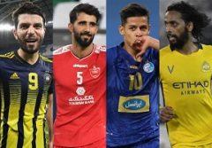 رسن، قایدی و کامیابینیا نامزد بهترین هافبک لیگ قهرمانان آسیا شدند