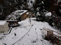 بارش ۳۰ سانتیمتری برف در دیلمان