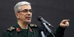 سرلشکر باقری: انتقام سختی در عاملان ترور شهید فخریزاده است